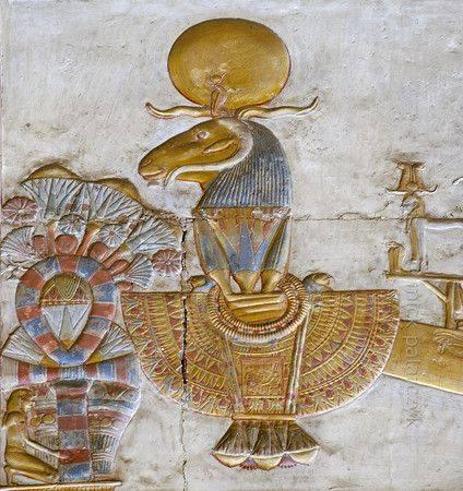 Temple de Sethi I.  Abydos...