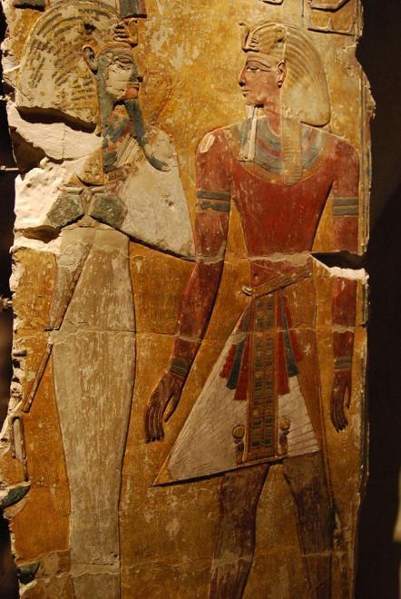 Fragment of a pillar