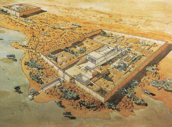 Dendera reconstituée