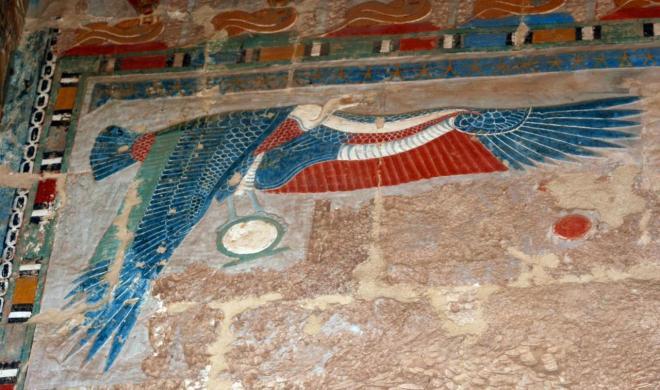 La netjeret Nekhbet...  Gardienne de la Haute-Égypte !