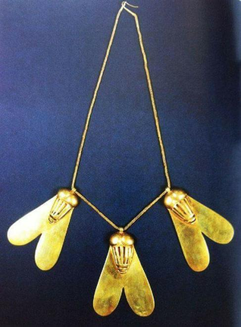 La médaille d'honneur du pharaon Ahmès.
