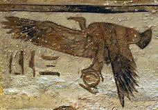 Nekhbet. From The Hathor Temple of Queen Nefertari at Abu Simbel.