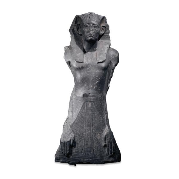 Granite statue of Senwosret III