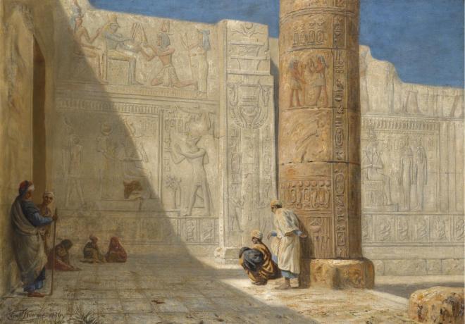 1Temple of Seti I, Abydos, Ernst Koerner, 1926