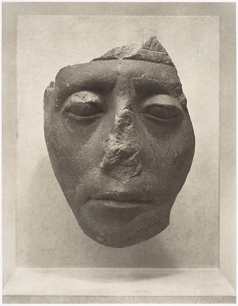 Charles Sheeler  Carnarvon Head of Sesostris III  The Met metmuseum.org