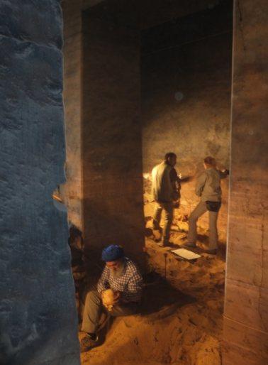Egy excavations qubbet el hawa
