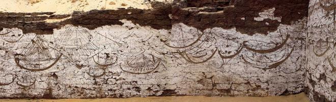 Egypt boat tableau