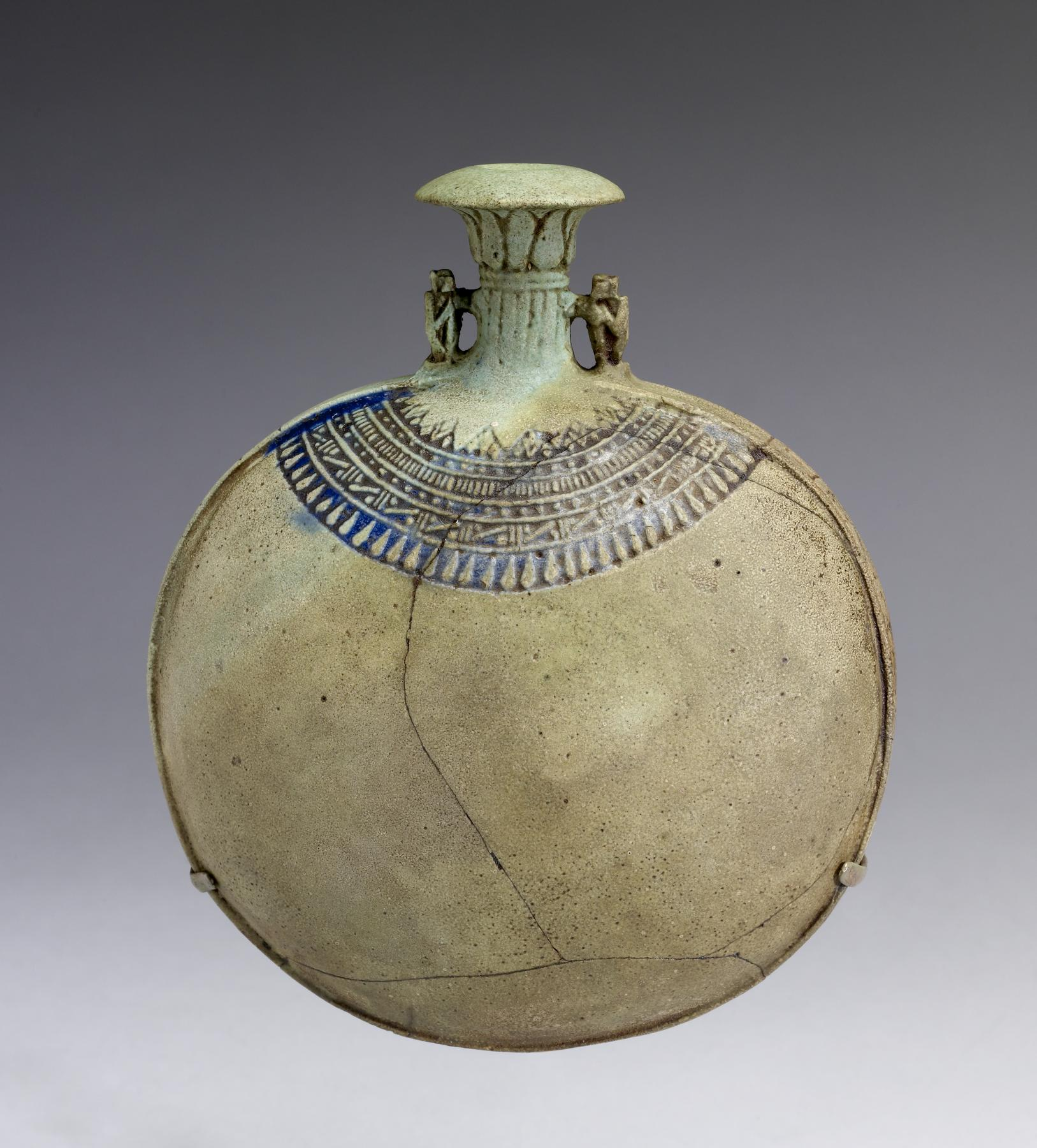 Egyptian new years flask walters 48419 3