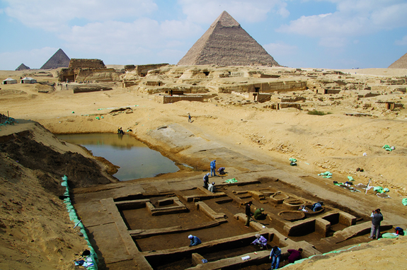 Giza discoveries 1