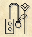 Hieroglyphe du groupe y symbolisant le scribe 1