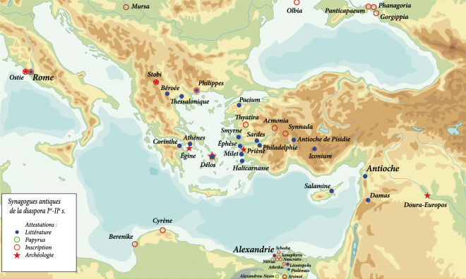 Image diaspora synagogues in antiquity