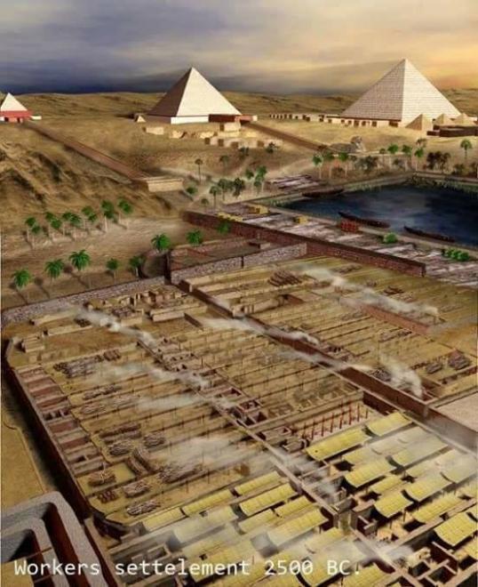 Le village des travailleurs de gizeh pres des pyramides safaa mohamed