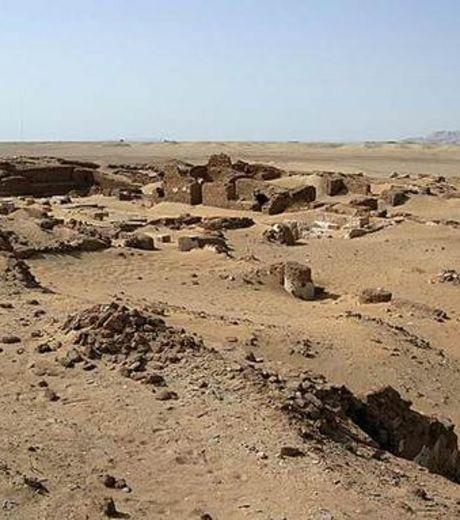 Les ruines de l ancienne ville de kellis pres de l oasis d al dakhla au sud ouest du caire 59688 w460 1