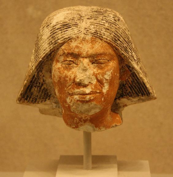 Limestoneheadofanoldermanoldkingdommiddynastyiv earlydynastyvca2550 2460bcemetropolitanmuseumofart