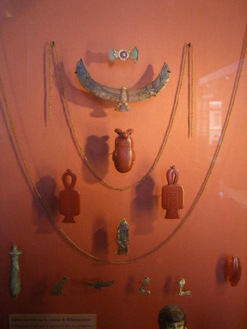 Louvre bijoux de khaemouaset