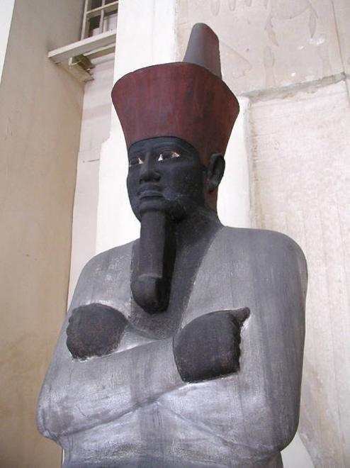Mentuhotep seated