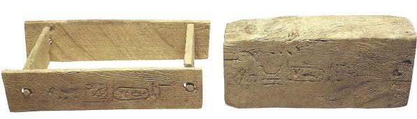 Moule a brique et sa brique et sa brique xxviii dynastie
