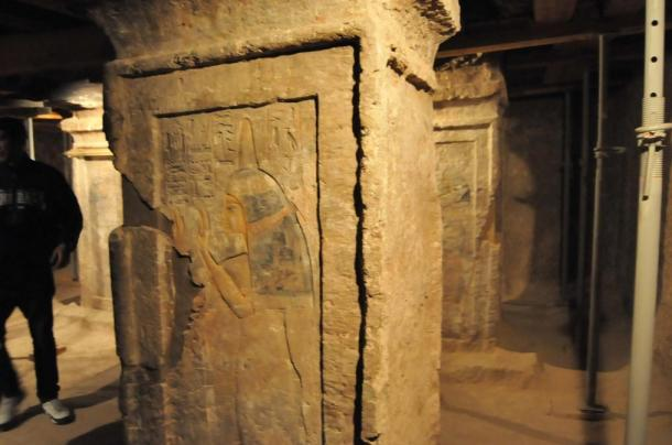 Paintings and inscriptions