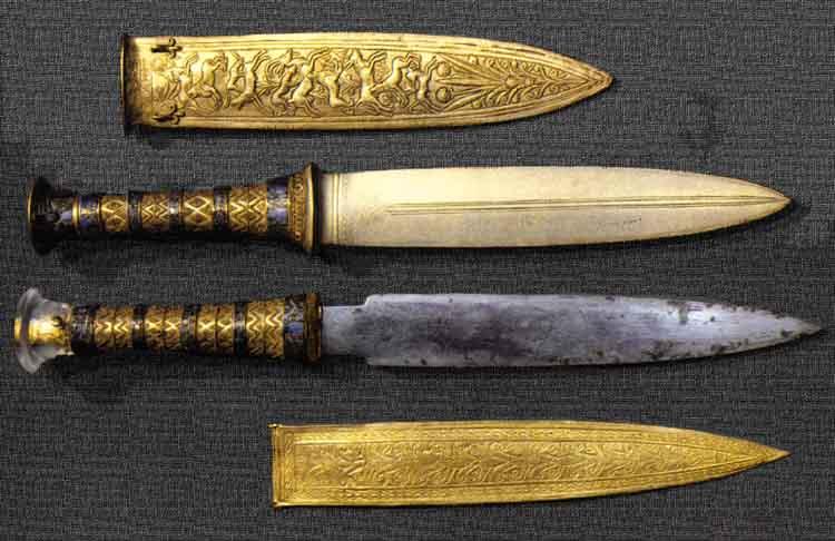 Tutankhamun dagger 1