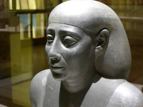 L'homme âgé de la 26e dynastie