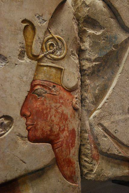 Voici le fils du pharaon Séthy I, à savoir Ramsès II !
