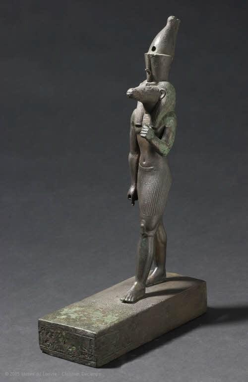 Scimitar Oryx (mAHD) offering Scene, Mastaba of Remni, Saqqara.