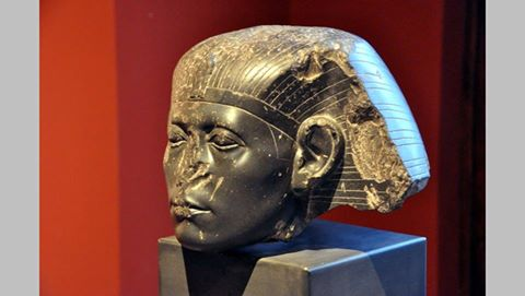 Sphinx head of King Sesostris III