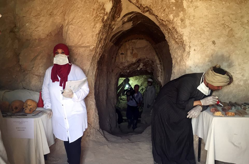 Egyptologists have discovered a 3,500-year-old tomb in Luxor