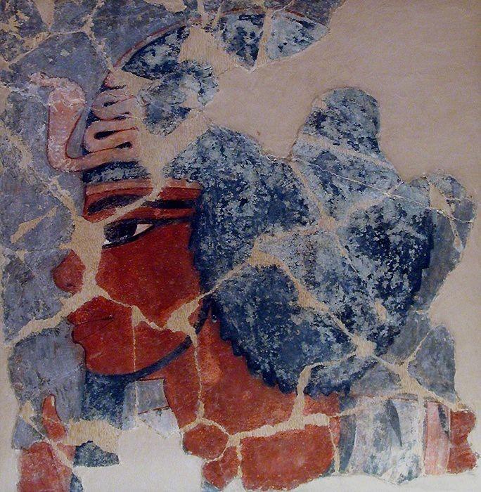 Fragment de l'hypogée de d'Amenhotep III.