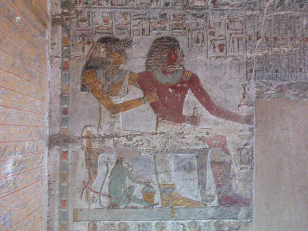 Tomb Paheri El Kab (Dynasty 19)