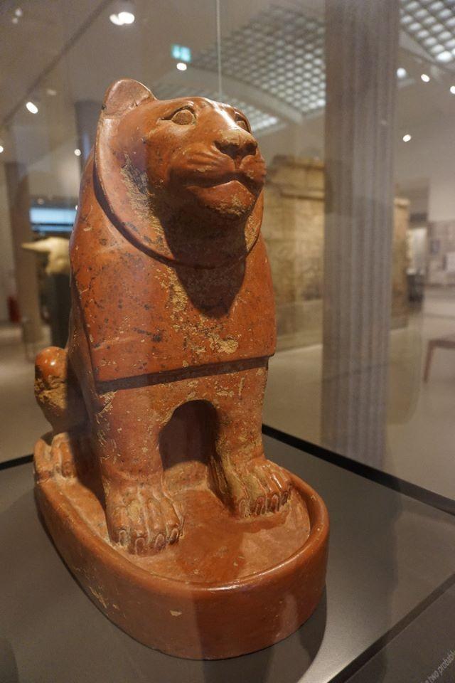 The guardian lion of Nekhen