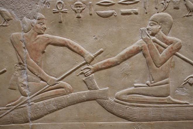 Tomb of Ka-Gmni. Dynasty 6th.