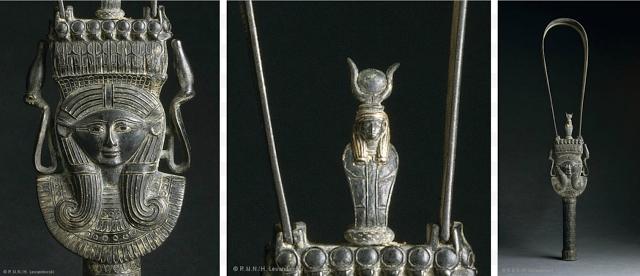 Sistre de la chanteuse d'Amon et d'Isis, Hénouttaouy _ Marie Grillot