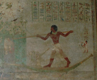 chapel _the tomb of Khnumhotep II at Beni Hassan