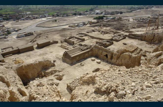 Des archéologues ont decouvert un nouvel hypogée en Egypte !