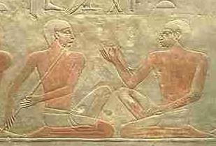 Du mastaba d'Akhethétep