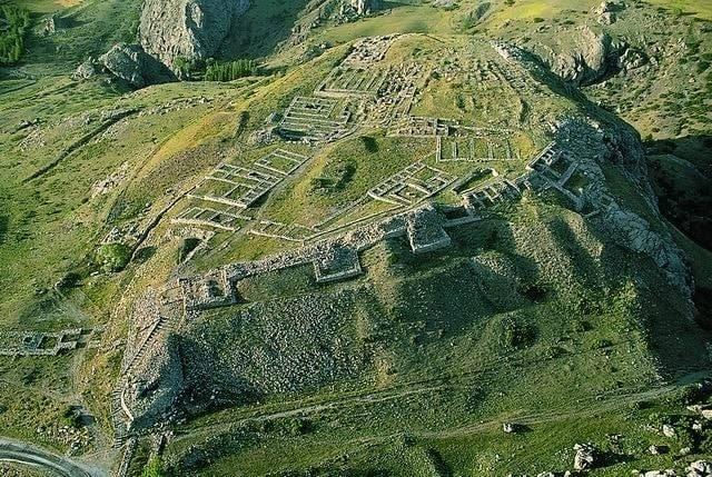 La capitale des hittites, Hattusac.