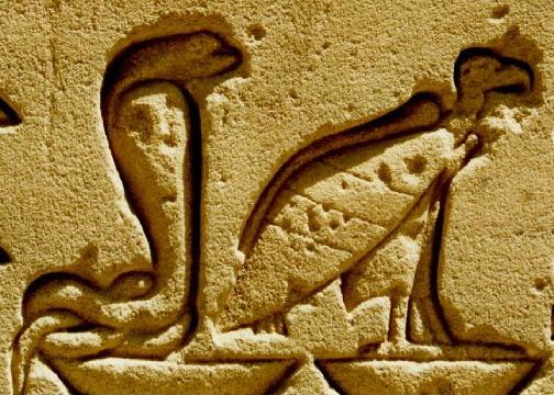 Nebty _ hieroglifo