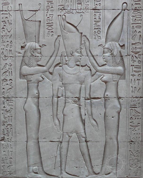 Le pharaon Ptolémée VIII.
