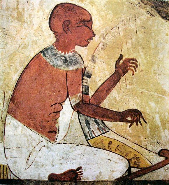 peinture du tombeau de Nakht, à Thèbes