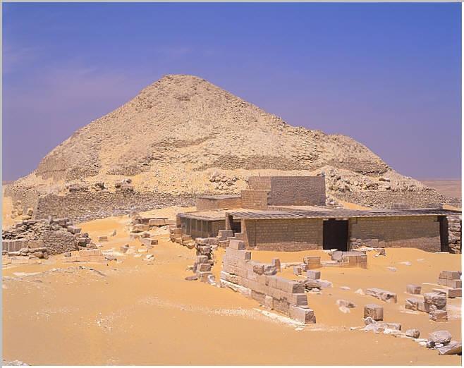 Pépi II pyramid temple