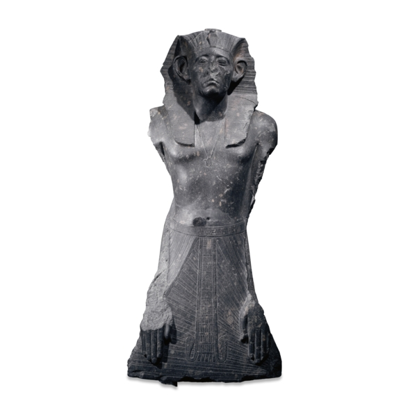 Granite statue of Senwosret III