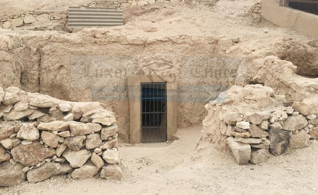 Rediscovered tomb 157