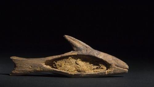 Sarcophage de momie de barbeau musée des confluences de lyon patrick ageneau