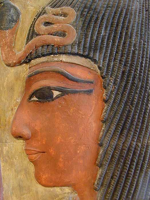 La netjeret Hathor accueillait Séthi I...