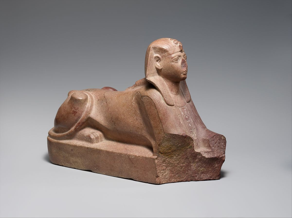 Sphinx of thutmose iii ca 1479 1425 bc