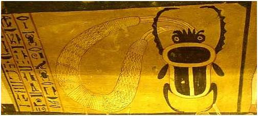 TT 359 - Deir el-Medineh - XXe dynastie - collier menat