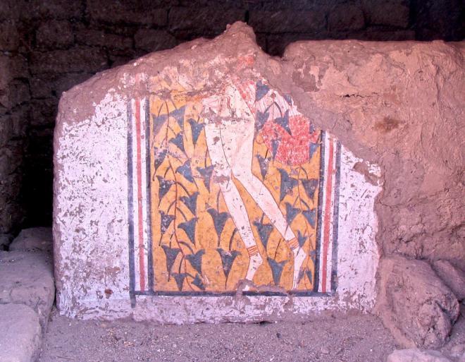Les fouilles de l'IFAO à Deir el-Medineh, Cédric Gobeil.