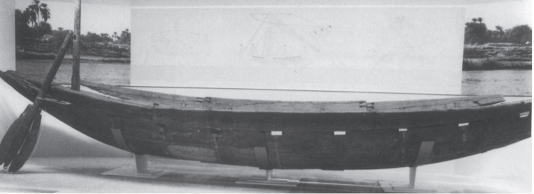 Dahchour bateau de sesostris iii courtesy of the carnegie museum of natural history