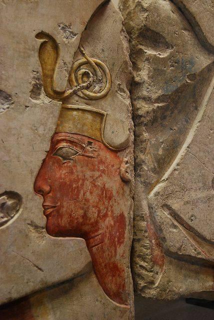 Detail d un relief d abydos celui du fils du pharaon sethy i ramses ii nouvel empire 19e dynastie mohamed bakier